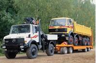 Mercedes Truck Unimog